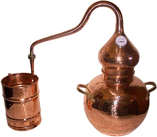 5 Gallon Copper Alembic Still for whiskey