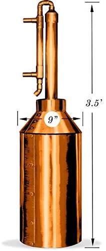 Clawhammer 5 Gallon Copper Moonshine Still Kit